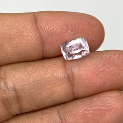 3.27cts, 8mmx6mmx6mm, Kunzite Crystal Facetted Cut Stone @Afghanistan, CTS23