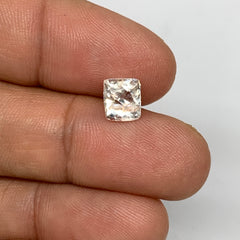 1.77cts, 7mmx6mmx5mm, Kunzite Crystal Facetted Cut Stone @Afghanistan, CTS30