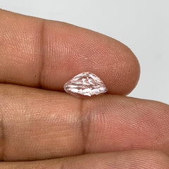2.27cts, 6mmx10mmx5mm, Kunzite Crystal Facetted Cut Stone @Afghanistan, CTS32