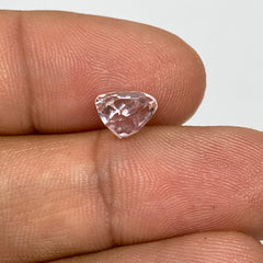 2.06cts, 6mmx7mmx7mm, Kunzite Crystal Facetted Cut Stone @Afghanistan, CTS56
