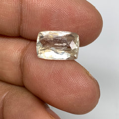 4.68cts,11mmx8mmx5mm, Kunzite Crystal Facetted Cut Stone @Afghanistan, CTS63