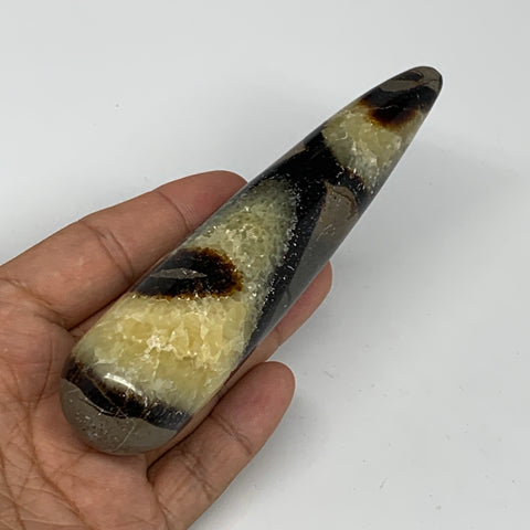 "164.3g,5.1""x1.2"" Natural Septarian Wand Stick, Home Decor, Collectible, B6079"