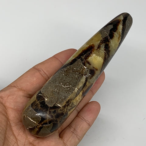 "197.4g,5.4""x1.2"" Natural Septarian Wand Stick Home Decor, Collectible, B6080"