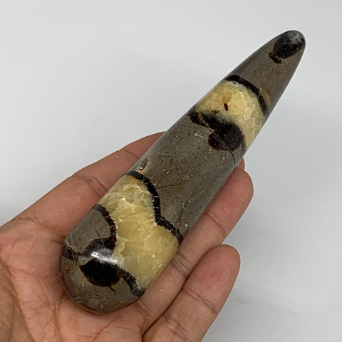 "163.2g,5.2""x1.2"" Natural Septarian Wand Stick, Home Decor, Collectible, B6086"