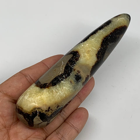 "182.1g,5.2""x1.2"" Natural Septarian Wand Stick, Home Decor, Collectible, B6091"