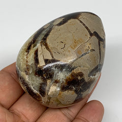 "175.7g, 2.4""x1.8"" Natural Polished Septarian Egg, gemstones @Madagascar,B5269"