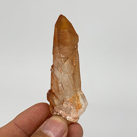"35.4g, 2.9""x1""x0.8"", Natural Red Quartz Crystal Terminated @Morocco, B11463"