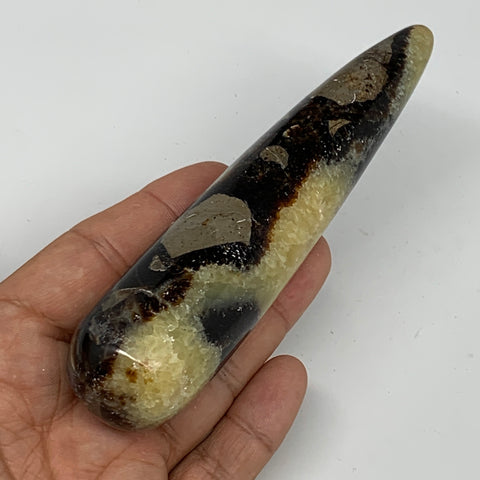 "166.3g,5.1""x1.2"" Natural Septarian Wand Stick, Home Decor, Collectible, B6103"