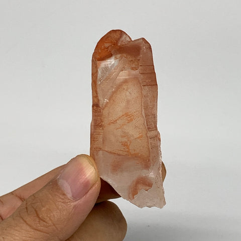 "42.5g, 2.5""x1""x0.7"", Natural Red Quartz Crystal Terminated @Morocco, B11475"
