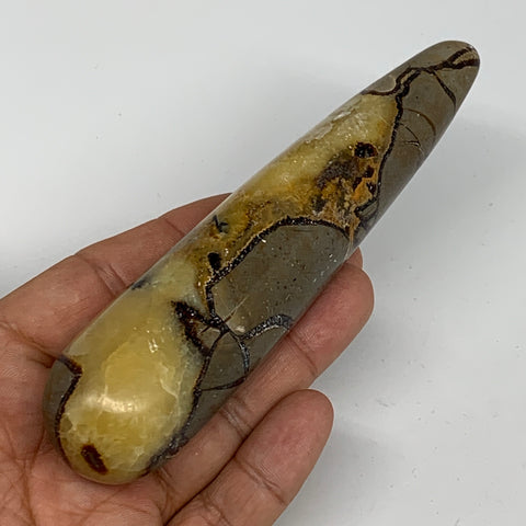 "172.1g,5.2""x1.2"" Natural Septarian Wand Stick, Home Decor, Collectible, B6122"