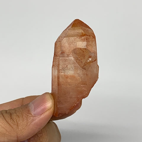 "34.8g, 2.2""x1""x0.9"", Natural Red Quartz Crystal Terminated @Morocco, B11490"