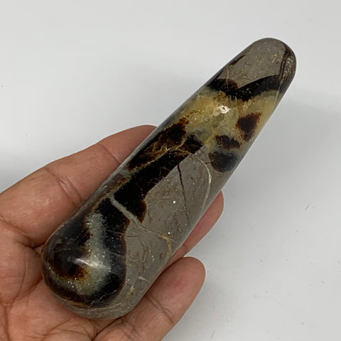 "188g,4.6""x1.3"" Natural Septarian Wand Stick, Home Decor, Collectible, B6128"