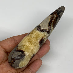 "157.7g,5.2""x1.2"" Natural Septarian Wand Stick, Home Decor, Collectible, B6130"