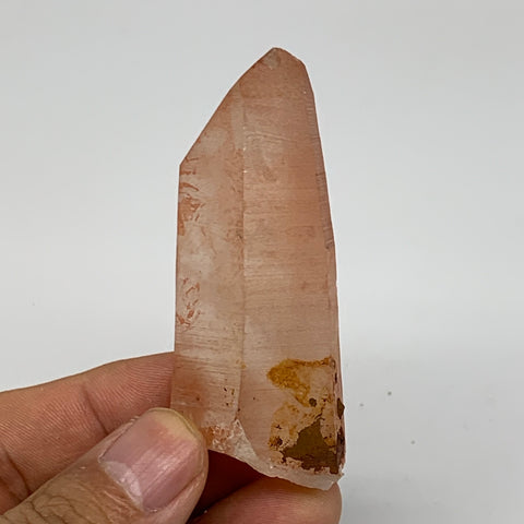 "52.2g, 2.7""x1.1""x0.8"", Natural Red Quartz Crystal Terminated @Morocco, B11495"