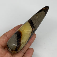 "143g,4.8""x1.2"" Natural Septarian Wand Stick, Home Decor, Collectible, B6135"