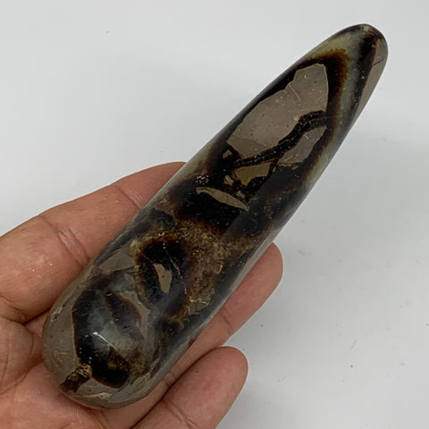 "175.6g,4.8""x1.2"" Natural Septarian Wand Stick, Home Decor, Collectible, B6137"