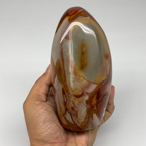 "938g, 5.4""x 2.9""x2.5"" Natural Polychrome Jasper Freeform @Madagascar, B2489"