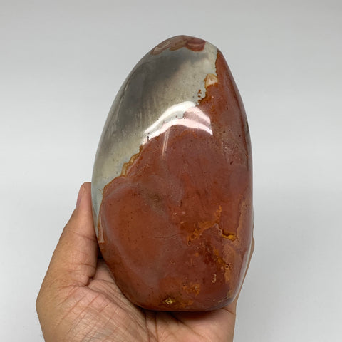 "798g, 4.8""x 3""x2.4"" Natural Polychrome Jasper Freeform @Madagascar, B2491"