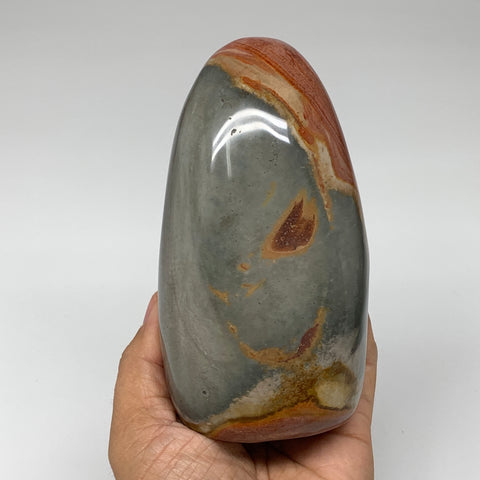 "848g, 5.3""x 2.9""x2.4"" Natural Polychrome Jasper Freeform @Madagascar, B2495"