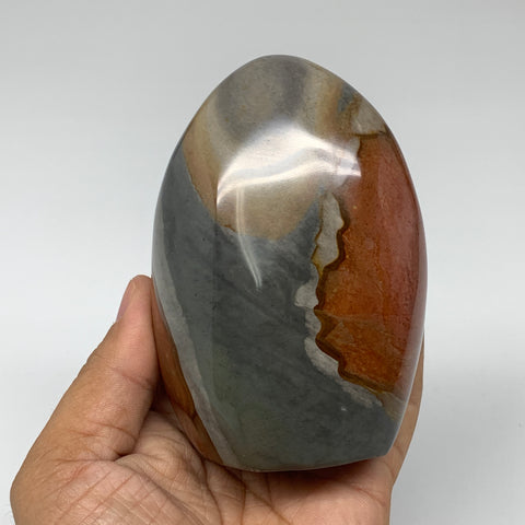 "522g, 3.9""x 2.7""x2.2"" Natural Polychrome Jasper Freeform @Madagascar, B2500"