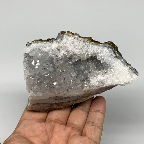 "384.5g, 4.3""x3""x1.7"", Rare Manganese Cluster With Quartz Mineral Specimen,B10700"