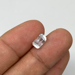 1.83 cts, 8mmx4mmx5mm, Aquamarine Crystal Facetted Stone Loose @Pakistan,CTS196