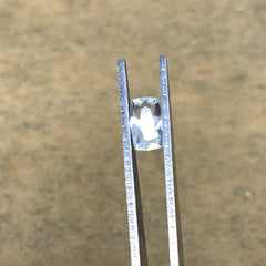 1.02cts, 8mmx5mmx3mm, Aquamarine Crystal Facetted Stone Loose @Pakistan,CTS210