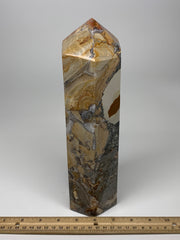 "5.9 Lbs, 10.75"" x 3.2"" x 2.8"" Natural Polychrome Jasper Point Tower Healing, B62"
