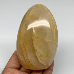 "381.2g, 3.8""x2.5""x1.7"" Natural Yellow Quartz Freeform Crystal Polished, B5523"