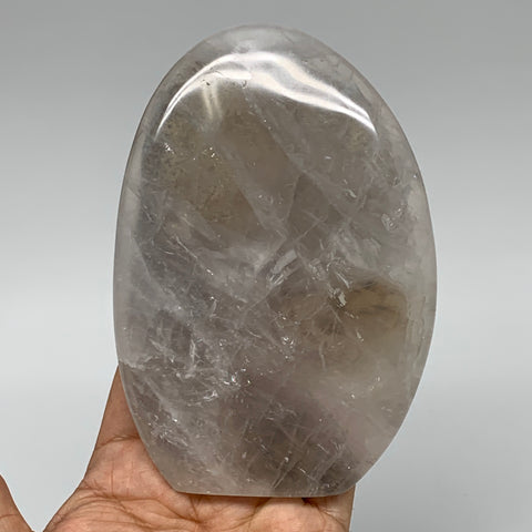 "467.5g, 5.1""x3.5""x1"" Natural Clear Quartz Freeform Crystal Polished, B5529"