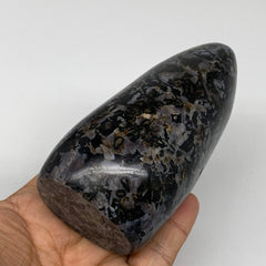 "504g, 4.4""x2.2""x1.9"" Natural Indigo Gabbro Freeform Polished Gemstones, B4574"