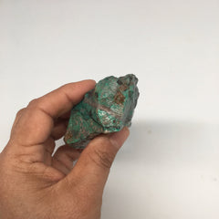 "192.2g, 3""x2.6""x1.2"" Rough Sonora Sunset Chrysocolla Cuprite from Mexico,SR54"