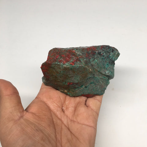 "286g, 4""x1.9""x2.1"" Rough Sonora Sunset Chrysocolla Cuprite from Mexico,SR55 - watangem.com"