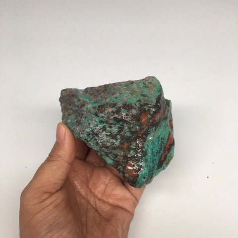 "584g, 4.3""x3.7""x2.4"" Rough Sonora Sunset Chrysocolla Cuprite from Mexico,SR63 - watangem.com"