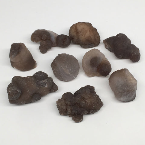 "184.1g,9pcs, 0.9""-1.8"" Natural Chalcedony Nodules Specimens @Morocco,MF3160"