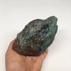 "880g, 5.3""x3""x3.1"" Rough Sonora Sunset Chrysocolla Cuprite from Mexico,SR77"
