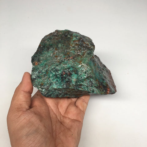 "1002g, 5.2""x 3""x 3.8"" Rough Sonora Sunset Chrysocolla Cuprite from Mexico, SR09"