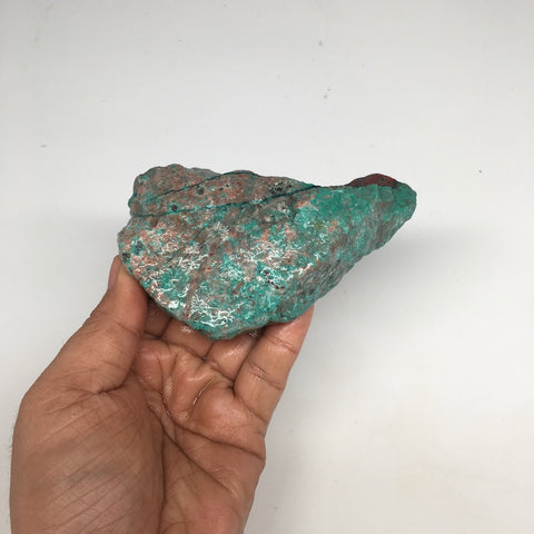 "278.4g, 4.5""x 2.8""x1.1"" Rough Sonora Sunset Chrysocolla Cuprite @Mexico, SR02"