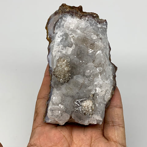 "253.1g, 4""x2.1""x1.6"", Rare Manganese Cluster With Quartz Mineral Specimen,B11027"