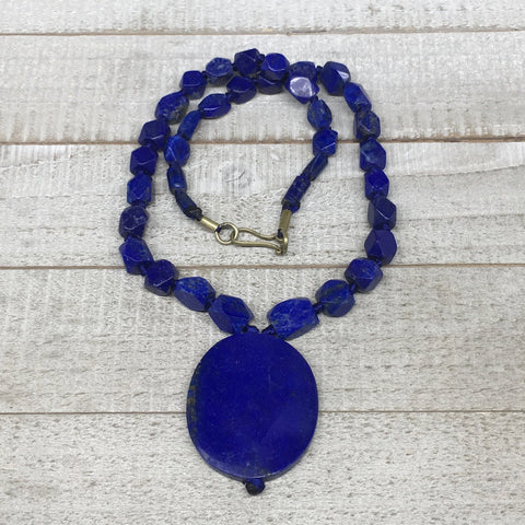 80.9g,7mm-47mm, Natural Lapis Lazuli facetted Beads Strand,36 Beads,LPB266