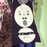 DW - Naughty & Nice Face Scarf Black