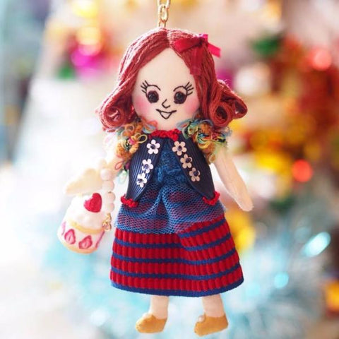 ES - Strawberry Cake Handbag Doll Charm