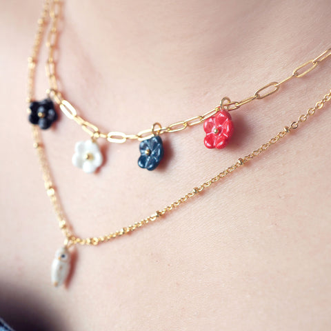 NB - U219 Mini Flower necklace