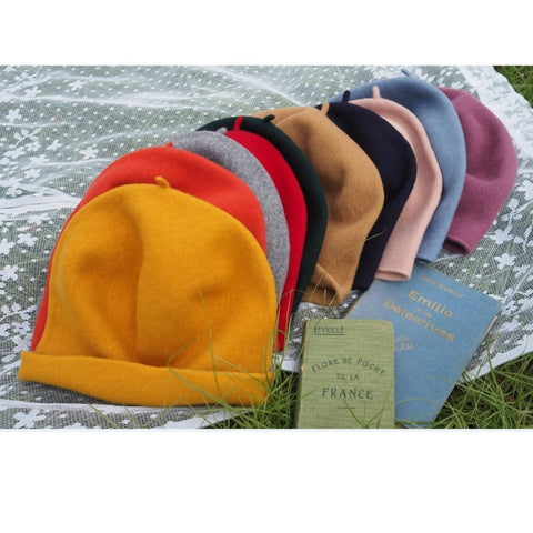 KOP - KOP001 Woollen Roll Up Beret