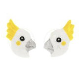 NB - J176 Earrings Mini Cockatoo
