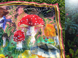 NL - Silk Scarf mushrooms 2020