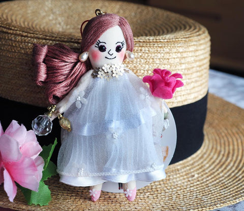 ES - ES084 Perfume Bottle Doll Charm
