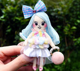 ES - ES085 Macaron Color Fashion Doll Charm