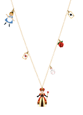 N2 - AMAL312 ALICE AND THE QUEEN OF HEARTS THIN NECKLACE