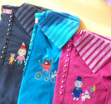 DW - Circus Embroidery Shirt